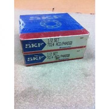 7014 Original and high quality ACD/P4ADGB PRECISION  MATCHED PAIR SEALED IN  SKF Bearing