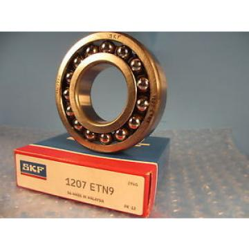 SKF Original and high quality 1207ETN9, 1207 ENT9, Double Row Self-Aligning Bearing