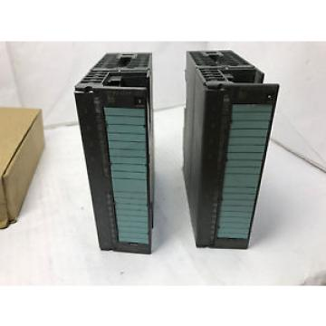 Siemens Original and high quality Lot of 2 6ES7322-1FF01-0AA0 Simatic S7-300 Digital output SM322