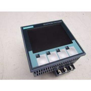 Siemens Original and high quality SENTRON PAC4200 7KM4212-0BA00-2AA0 POWER MONITOR DEVICE NICE USED M/O!!