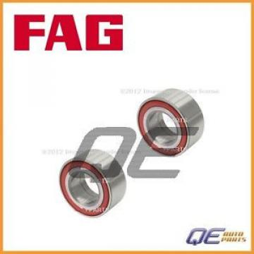 2 Original and high quality Front Wheel s 4D0407625E Fits: Audi A8 A6 Allroad RS6 1997 – 2005 Fag Bearing