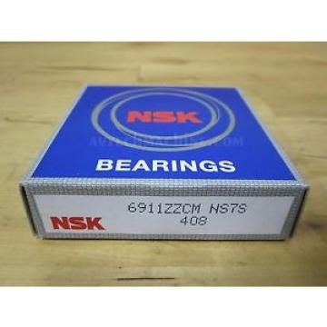 NSK Original and high quality BEARING DEEP GROOVE BALL BEARING  6911ZZ