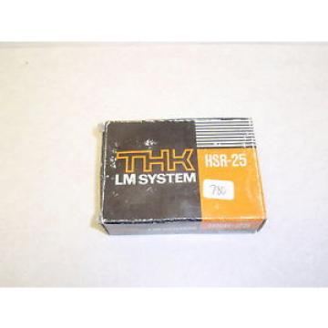 NEW Original and high quality THK LM SYSTEM HSR-25