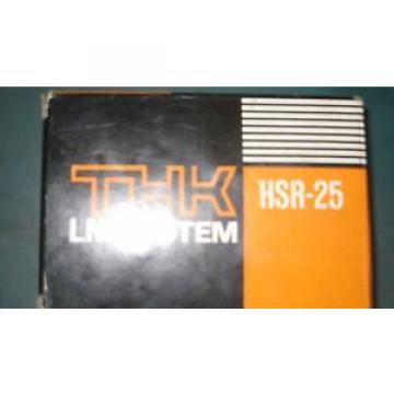 THK Original and high quality HSR-25 Bearing