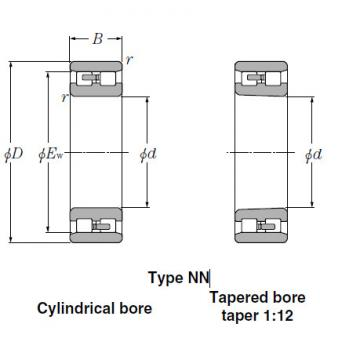 Bearings Cylindrical Roller Bearings NN3930