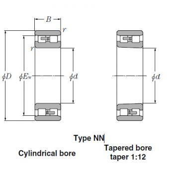 Bearings Cylindrical Roller Bearings NN49/950