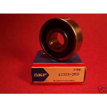 SKF Original and high quality 62303 2RS1, Single Row Radial Bearing