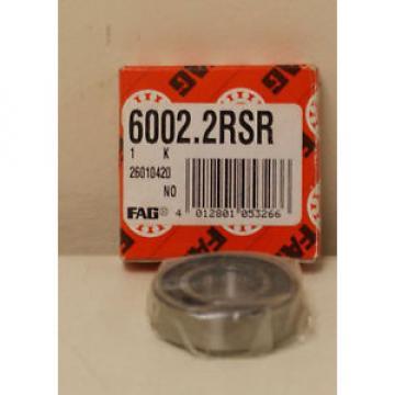 6002.2RSR Original and high quality 6002-2RSR Deep Groove Ball id:15 od:32 h:9 (4496 Fag Bearing