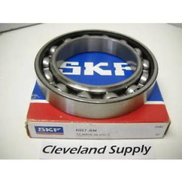 SKF Original and high quality MODEL 6017 JEM SINGLE-ROW BALL BEARING NIB!!!