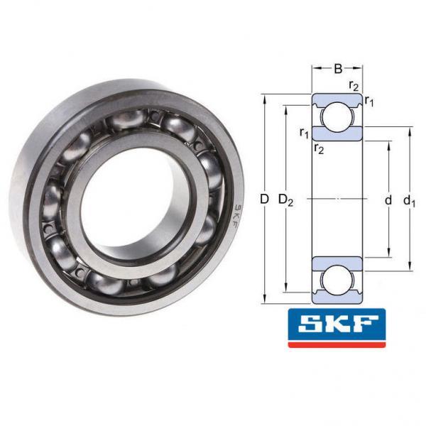6310/C3 SKF Single Row Deep Groove Ball Bearings #2 image