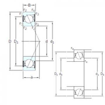 підшипник SS7201 CD/HCP4A SKF