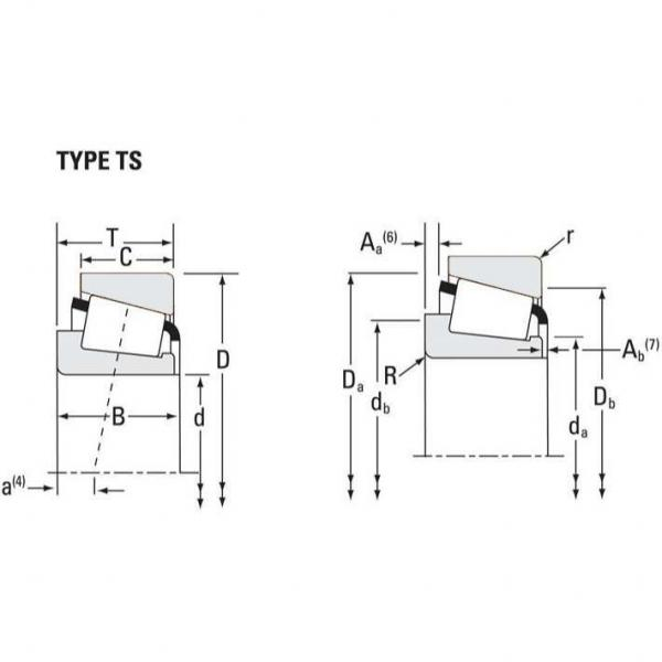 LM29749 Timken Tapered Roller Bearings - TS (Tapered Single) Imperial #2 image